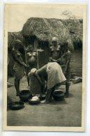 NU Ethnic NUDE- TOGO NUATJA Carte Rare 25 C.M Santo édit - Préparation De Foufou  Femmes Poitrines Nues    /D12-2018 - South, East, West Africa