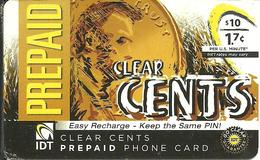 IDT: Go Clear - Clear Cents - Vereinigte Staaten