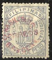 1881 EX-COLONIA ESPAÑOLA FILIPINAS HABILITADO - EDIFIL 66K* TIPO IV - Filipinas