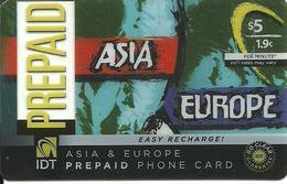 IDT: Go Clear - Asia & Europe - Vereinigte Staaten