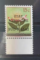 Sud Kasai - 2 Avec BDF - 1 Point Manquant - 1961 - MNH - Sud-Kasaï