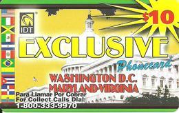 IDT: UTA Exclusive - Washington D.C., Maryland, Virginia - Vereinigte Staaten