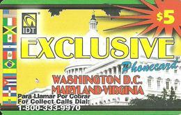 IDT: UTA Exclusive - Washington D.C., Maryland, Virginia - United States
