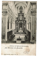 Les Environs De Bruxelles - Intérieur De L'Eglise De Grimbergen - Nels 11/166 -  2 Scans - Grimbergen