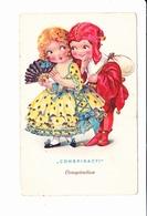 CONSPIRACY, CONSPIRATION, Enfants, Diablotin, éventail, Baluchon, Série Dolly, Ed. Cellaro - Cartes Humoristiques
