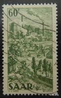 GERMANY SAAR, Year 1949. MI 287. SG 279. Used . - 1947-56 Ocupación Aliada
