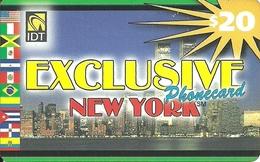 IDT: UTA Exclusive - New York. No Tel No On Front - Vereinigte Staaten
