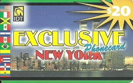 IDT: UTA Exclusive - New York. No Tel No On Front - Sonstige