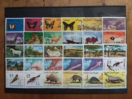 REPUBBLICA SOMALA - 7 Serie Animali Nuove ** + Spese Postali - Somalia (1960-...)