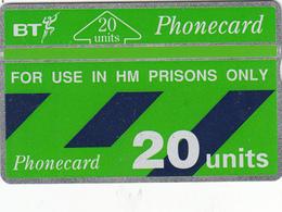 BT  Phonecard - HM Prisons (Green Band) - Superb Fine Used Condition - Ver. Königreich