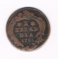 &  ZEELAND  1 DUIT  1785 - [ 1] …-1795 : Former Period