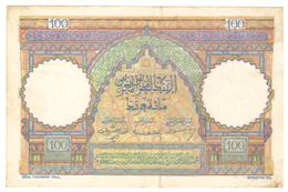 Maroc  Billet De 100 Francs  Du 09-01-1950 - Maroc
