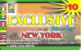 IDT: UTA Exclusive - New York 3 Month, Rs UTA Logo Small, 2 Service Numbers - Vereinigte Staaten
