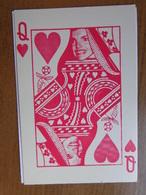 Speelkaarten / Queen Of Hearts --> Onbeschreven - Cartas