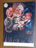 Speelkaarten / Otto Dix, Die Skatspieler -> Onbeschreven - Cartes à Jouer