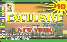 IDT: UTA Exclusive - New York 3 Month, Rs UTA Logo Small, 1 Service Number - Vereinigte Staaten