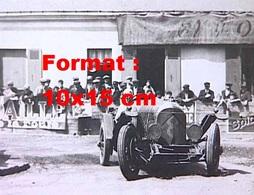 Reproduction D'une Photographie D'une Bentley 3 Litres Aux 24 Heures Du Mans En 1924 - Reproductions