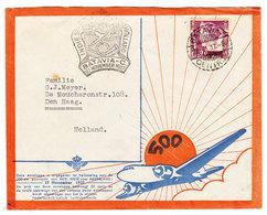 Netherlands Indies FIRST FLIGHT COVER 1937 - Netherlands Indies
