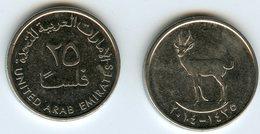 Emirats Arabes Unis United Arab Emirates 25 Fils 1435 - 2014 KM 4a - Emirats Arabes Unis