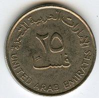 Emirats Arabes Unis United Arab Emirates 25 Fils 1432 - 2011 KM 4a - Emirats Arabes Unis