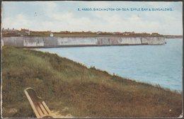 Epple Bay & Bungalows, Birchington-on-Sea, Kent, 1917 - T Painter Postcard - England