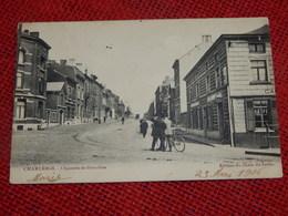CHARLEROI  -  Chaussée De Bruxelles  -  1906 - Charleroi