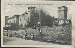 LOMBARDIA - S.ANGELO LODIGIANO - CASTELLO - FORMATO PICCOLO - EDIZ. BIANCARDI - VIAGGIATA 1926 - Autres Villes