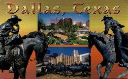 Dallas, Texas - Pioneer Plaza - Dallas