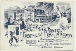 Meiringen - Hotel De La Poste - BE Berne