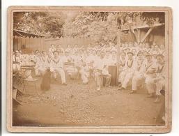 Photo Sur Carton De Marins: Vers 1900 - Guerra, Militari