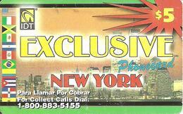 IDT: UTA Exclusive - New York 3 Month, Long Serial No - Sonstige