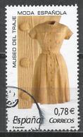 Spain 2007. Scott #3526d (U) Yellow Linen Dress * - 2001-10 Oblitérés
