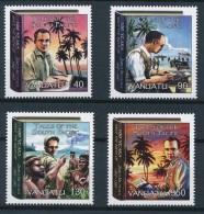 Vanuatu 2007 - MNH ** - Ecrivains - Michel Nr. 1332-1335 Série Complète (van197) - Vanuatu (1980-...)