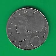 10 SCHILLING 1976  (PRIX FIXE)  (CL2) - Autriche