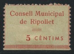 Guerra Civil . Consell Municipal De Ripollet . - Viñetas De La Guerra Civil