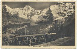 Mürrenbahn - Grütschalp - BE Berne