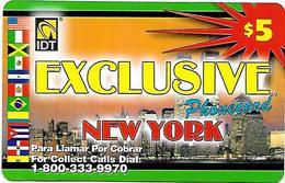 IDT: UTA Exclusive - New York 3 Month, Tel No ....9970, Serial No Big - Sonstige