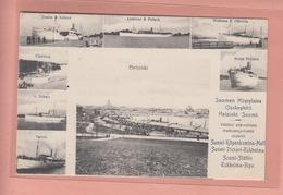 OLD POSTCARD -  FINLAND - SUOMEN HOYRYLAIVA  OSAKEYHTIO - HELSINKI - SHIPPING - Finland
