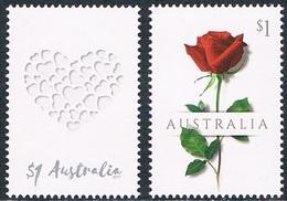"""Australie - Timbres De Messages """"Love"""" 4409/4410 (année 2017) ** - 2010-... Elizabeth II"""