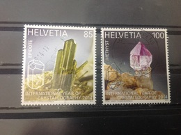 Zwitserland / Suisse - Complete Set Kristallen 2014 - Zwitserland