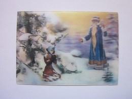 3d Lenticular Postcard Stereo Fairy Tale - Stereoscopische Kaarten