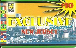 IDT: UTA Exclusive - New Jersey, No Tel No On Front - Sonstige