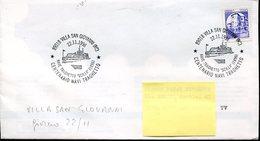 33797 Italia, Special Postmark 1996 Villa San Giovanni Reggio Calabria, Centenario Navi Treghetto,ferry Ship - Italie