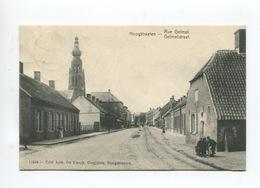 Hoogstraten Hoogstraeten Rue Gelmel Gelmelstraat ( Animée Ed. De Clerck Droguiste) - Hoogstraten