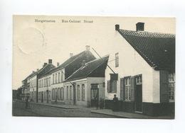 Hoogstraten Hoogstraeten Rue Gelmel Gelmelstraat ( Animée Commerce Estaminet Ed.J. G.) - Hoogstraten