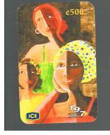 COSTA RICA - ICE (REMOTE) - 2002 DIASPORA AFRICANA, WOMEN    - USED - Costa Rica