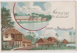 Gruss Aus Neu Guinea, Deutsch Kolonien - F.p. - Anno 1898 - Papua Nuova Guinea