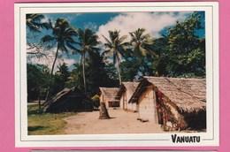 CARTE POSTALE DOUBLE DU VANUATU - Vanuatu