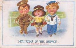 Illustrateur        115       Les Deux Bras Au Service ( D.Mc Gill ) - Mc Gill, Donald