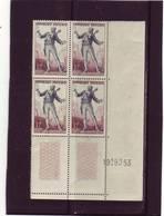 N° 957 - 12F LE FIGARO - 1° Tirage/1° Partie Du 9.9 Au 1.10.53 - 19.09.1953 - - 1950-1959